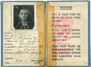 Passbook Eileen Weston