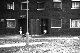 Residents in a faily new housing estate. Late 60's. Probably around the Newtown area.