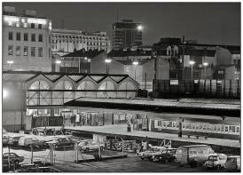 Birmingham Moor St by night 1982