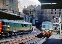 Diesels at Birmingham New Street 1958
