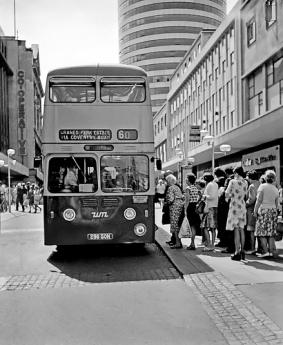High St, Birmingham early 1970s