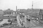 Hurst Street from Hill Street, 1959