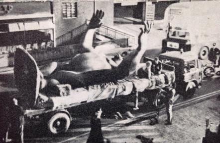 King Kong arrives in Birmingham - 1972 (Studio International)
