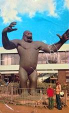 King Kong postcard 1972