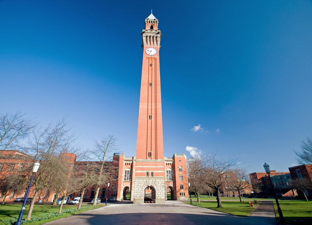 "Photo 6 - University of Birmingham Clocktower. Built in 1900, the clock tower was the tallest building in Birmingham until 1969 and is nicknamed ""Old Joe"" after Joseph Chamberlain, the University's first Chancellor. It is a prominent landmark visible from many parts of the city, and is said to be the tallest free-standing clock tower in the world at 100 metres."