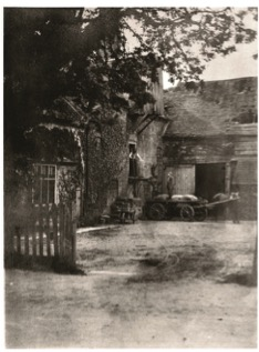 Photo 8 - Sarehole Mill in 1870 seen across the yard from Wake Green Road, close to where the bus stop is now.