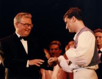 1995 - After almost 30 years in charge, Artistic Director Peter Wright retires and David Bintley is appointed as his replacement
