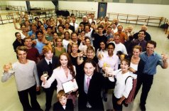 2001 - David Bintley is made a CBE