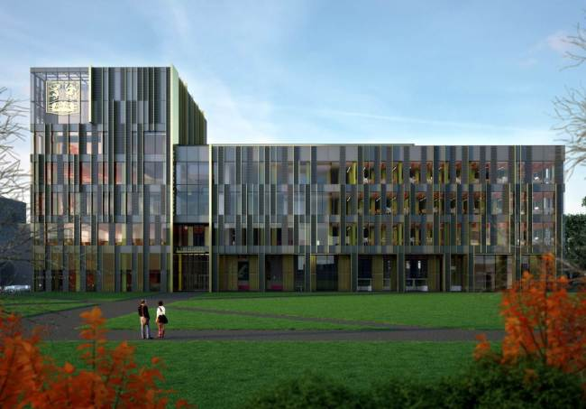 The new UoB library