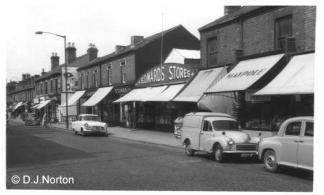 Edwards Stores, Stirchley - 1963