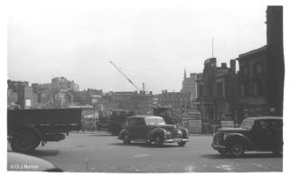 Holloway Head Towards City - 1958