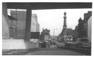 Hurst St from Inner Ring Road - 1959