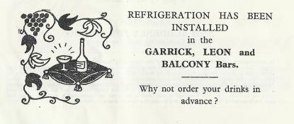 refrigeration in bars